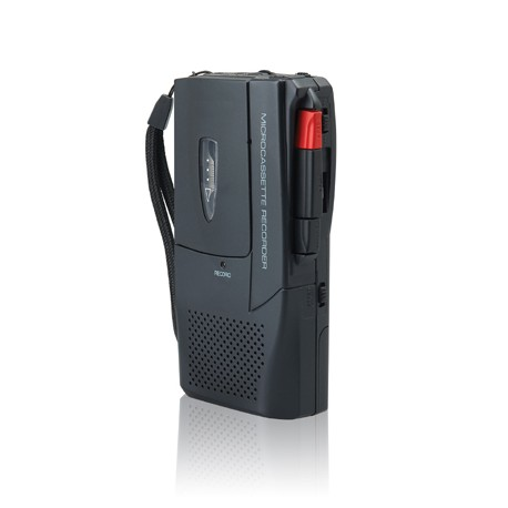 Voice Recorder With Tape