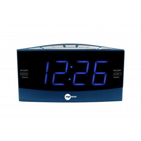 PLL AM/FM CLOCK RADIO